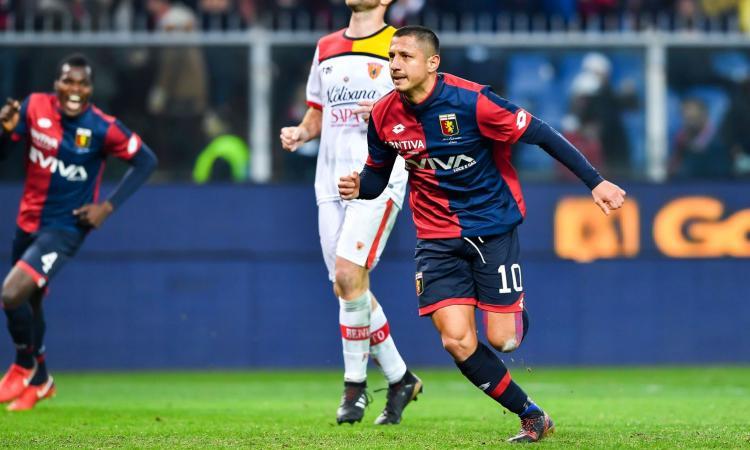 Udinese, smentito l'interesse per Lapadula: c'è il comunicato ufficiale