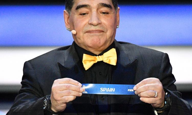 Maradona elogia CR7: 'Ronaldo è un animale'
