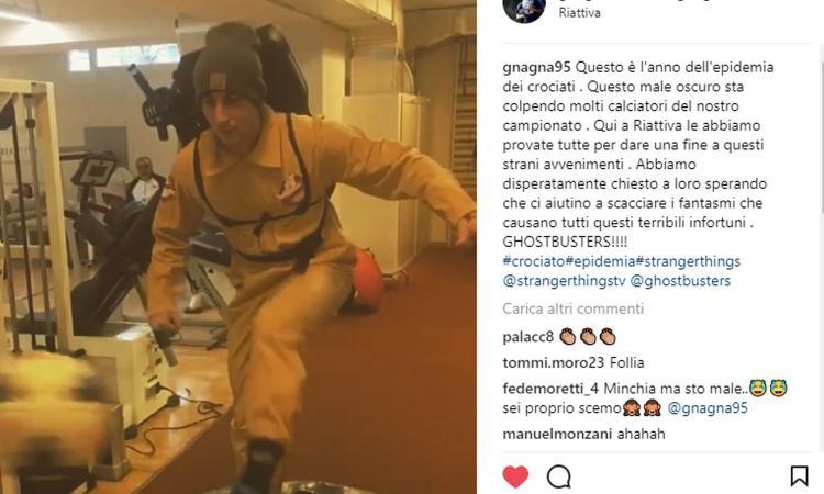 Morosini diventa un Ghostbuster: 'Cacciamo i fantasmi degli infortuni' VIDEO