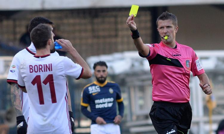 Inter-Napoli: arbitra Orsato, ecco la designazione completa