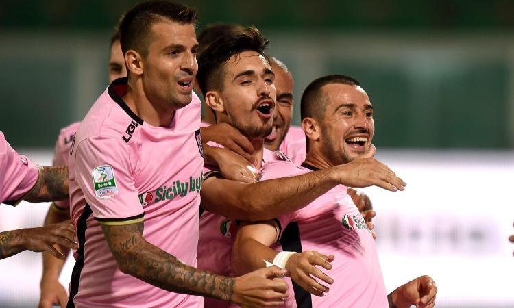 Palermo-Frosinone 2-1: il tabellino