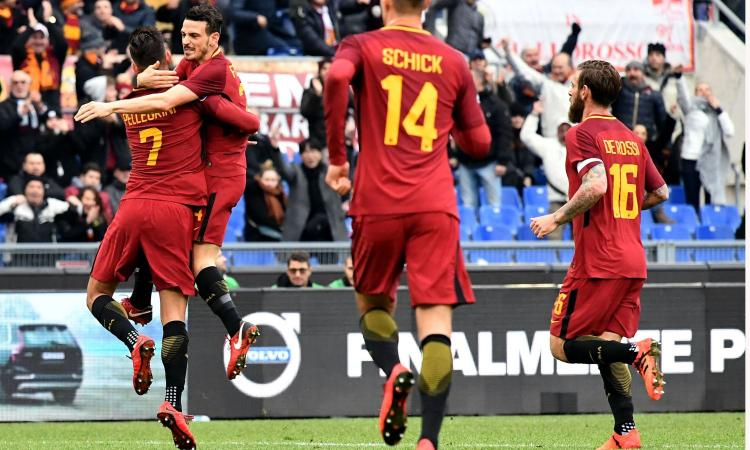 Roma-Sassuolo 1-1: GOL & HIGHLIGHTS