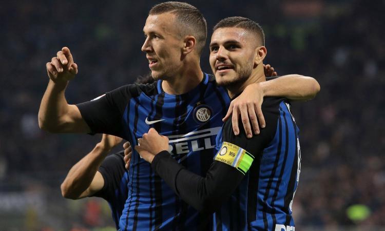 Perisic-Icardi, l'oro dell'Inter: meglio di loro in Europa solo Neymar e Cavani