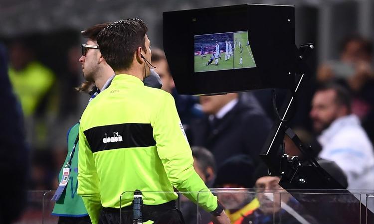 Serie A, UFFICIALE: le immagini del Var sui maxischermi degli stadi