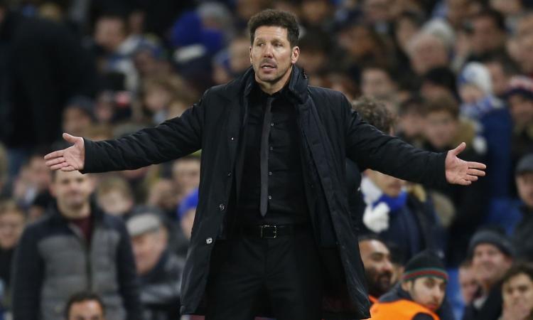 Atl. Madrid, Simeone: 'Non sarà una partita semplice. Favoriti per la vittoria finale? Non pensiamo così avanti'