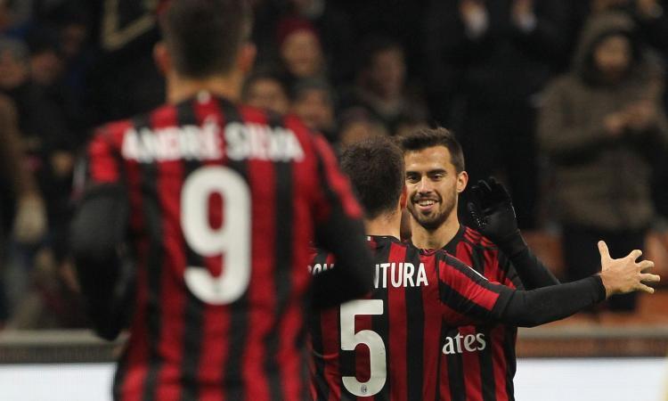 Coppa Italia: tris del Milan al Verona, nei quarti di finale c'è l'Inter VIDEO
