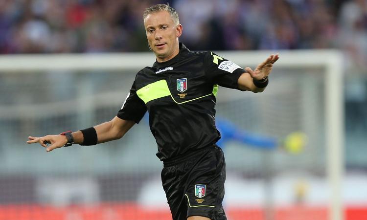 Fiorentina-Inter, ecco l'arbitro. Al Var Fabbri