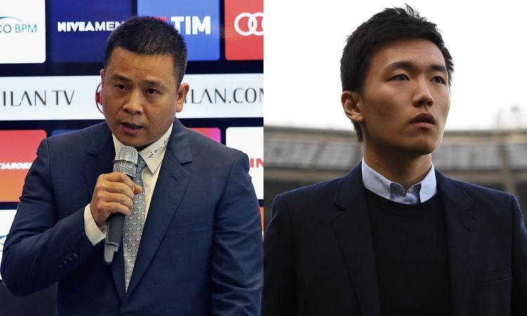 Intermania, 2 derby tra campo e società: la rivincita del Milan, dov'è Zhang?