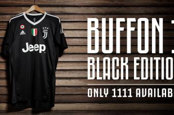 1598e6255c4 Photos  Juve s special shirt to celebrate Buffon s birthday ...