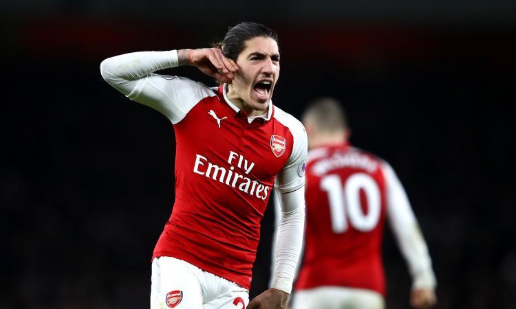 Bellerin nel recupero: Arsenal-Chelsea finisce 2-2. Conte terzo, Wenger sesto
