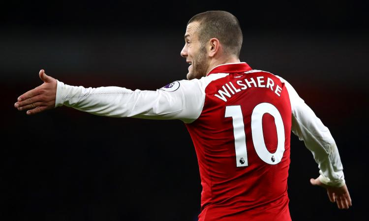 Juve, offerto ancora Wilshere: le ultime