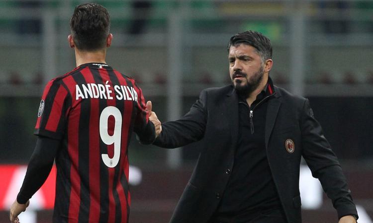 André Silva, il paradosso di Gattuso