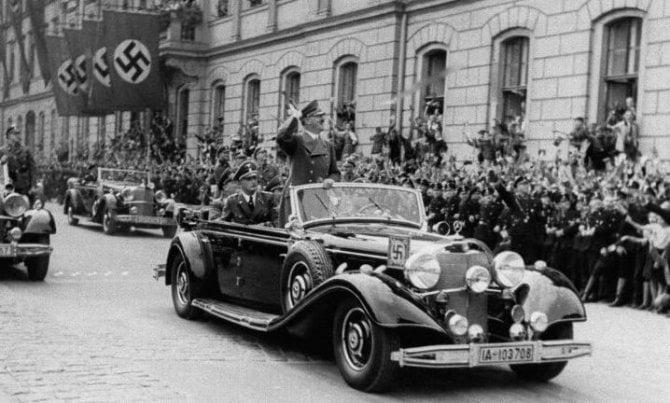 PIT STOP: 7 milioni di euro? Pochi per la macchina di Hitler FOTO