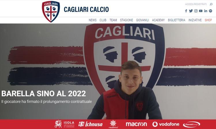 Cagliari, UFFICIALE: rinnova Barella