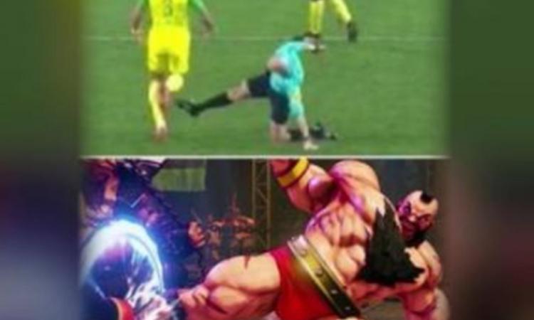 Momenti Di Gioia: Chapron da 'Street Fighter', arbitro PSG diventa idolo web