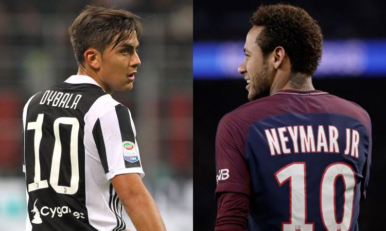 Il Real compra: Neymar o Dybala