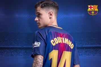 new styles 38c37 9cb9c Ronaldinho tells Coutinho what 'Barcelona fans love ...