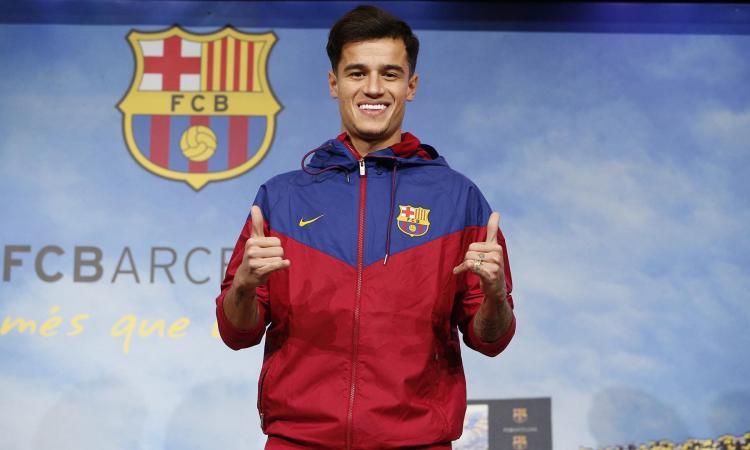 Maglia Home FC Barcelona Coutinho