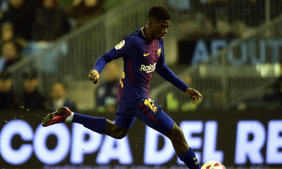 Maledizione Barcellona per Dembélé