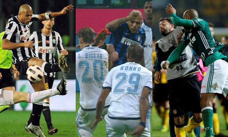 Felipe Melo: fra risse, pugni e falli folli. Inter e Juve non lo rimpiangono
