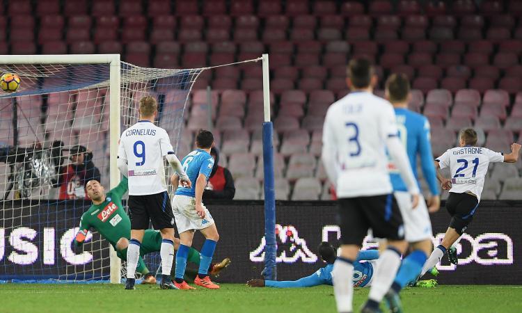 Napoli ko: Atalanta in semifinale di Coppa Italia con Juve o Torino VIDEO