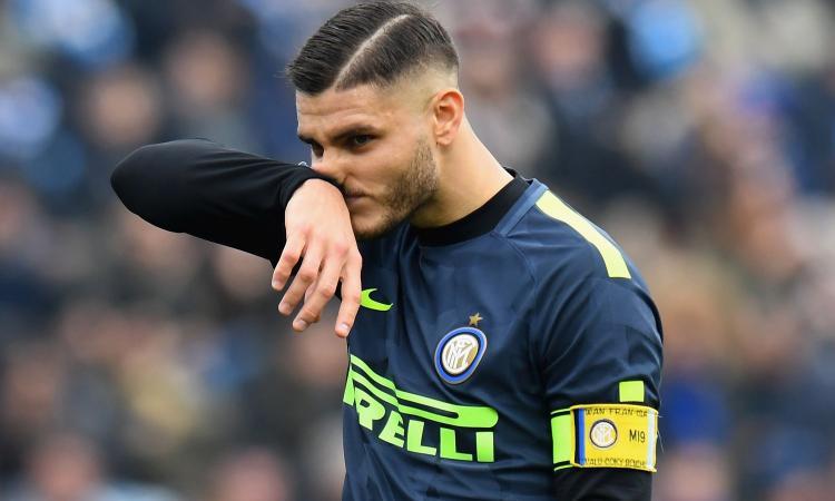Inter, il post muto di Icardi: rammarico per un'altra occasione fallita? FOTO