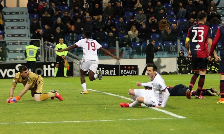 Serie A: per il Milan quota sbilanciata a Cagliari