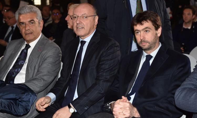 Juve, Marotta: 'Non possiamo permetterci Kane. Sul futuro di Buffon...'