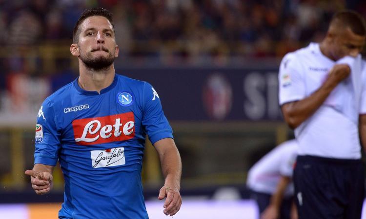 Sampdoria-Napoli, la MOVIOLA: annullato gol a Mertens per fuorigioco
