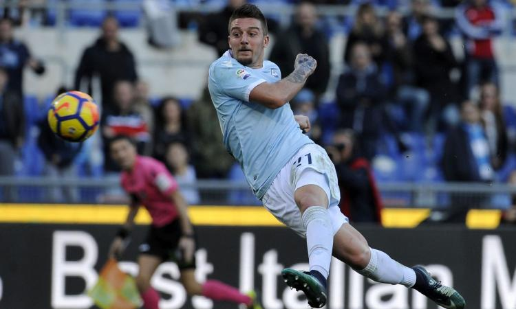 Lazio: c'è il Psg su Milinkovic, ma le quote dicono Manchester United. La Juve...