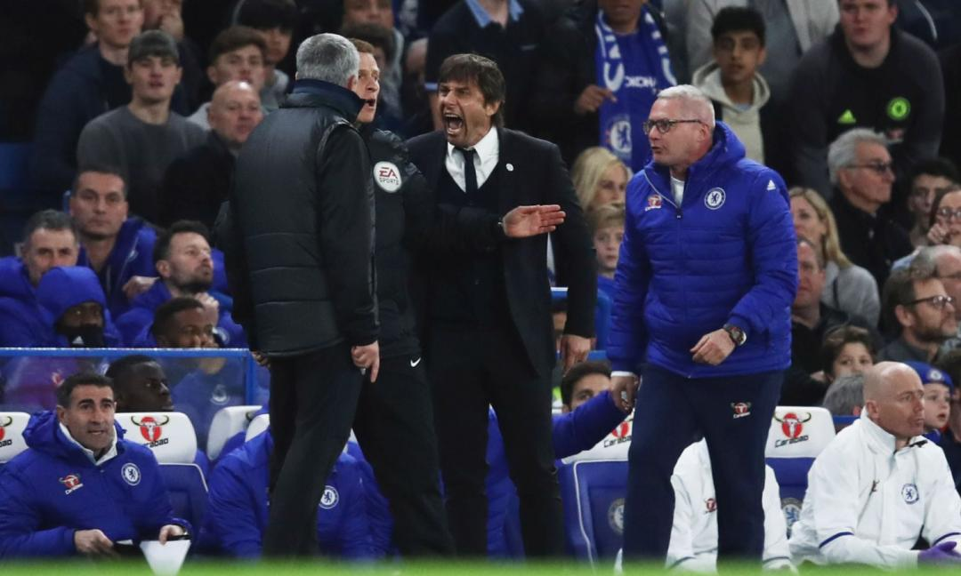 Mourinho e Conte, le scintille non sono finite