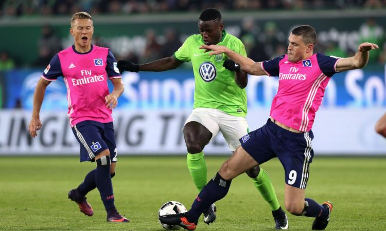 Nizza: accordo vicino per un attaccante del Wolfsburg
