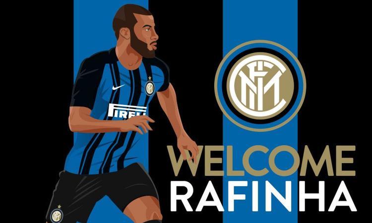 UFFICIALE Rafinha: 'Forza Inter, amala! Ho scelto il numero 8' VIDEO