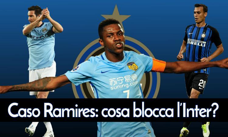 Inter, cosa blocca Ramires? Differenze con i colpi Lampard e Sainsbury VIDEO