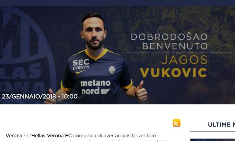 Verona, esordio con gol per Vukovic