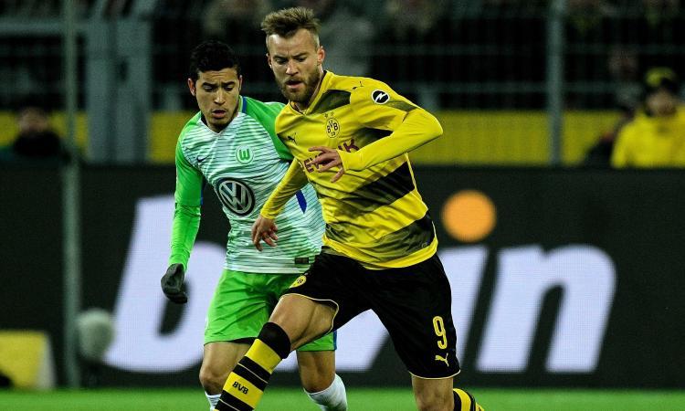Bundesliga: Gladbach ko nel recupero. Dortmund 0-0 col Wolfsburg senza Aubameyang