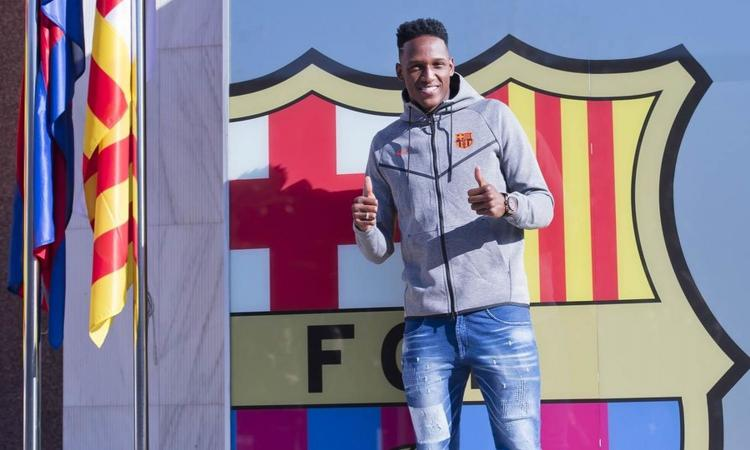 Yerry Mina al Barcellona: 'Sogno realizzato, pelle d'oca per Messi' VIDEO