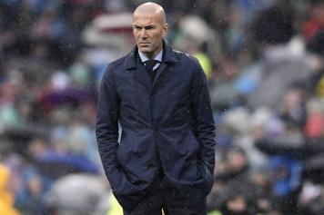 zidane, real madrid, sguardo, teso, pioggia, 2017/18
