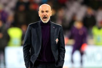 Pioli arrabbiato Fiorentina