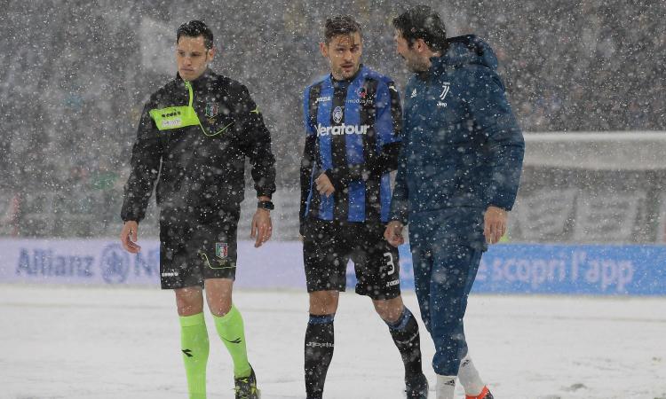 Dal rischio Champions all'Atalanta 'di riserva': Juve, pro e contro del rinvio
