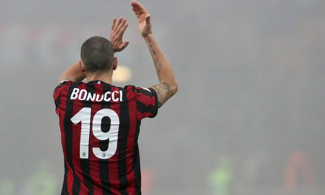 Sotto la maglia di Bonucci