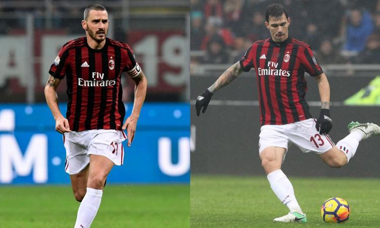 Milan, ecco i veri Bonucci e Romagnoli: difesa blindata nelle ultime 8