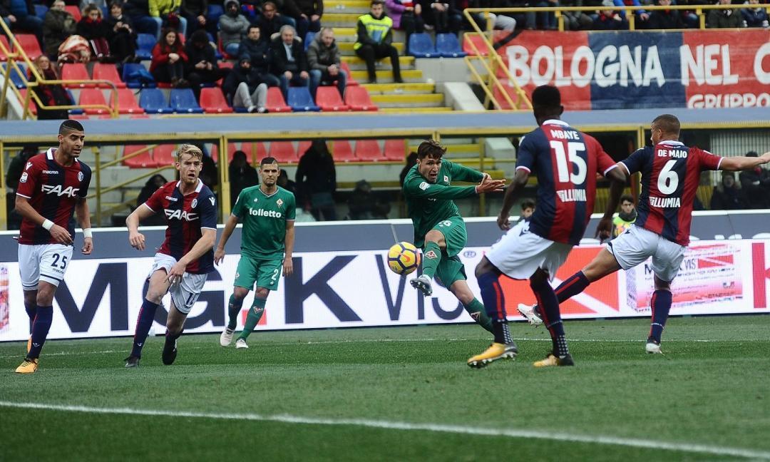 Bologna-Fiorentina, finale beffardo per una brutta gara