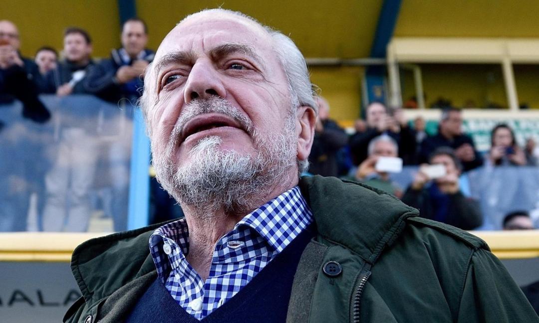 """De Laurentiis a Bari: """"Vi riporterò presto in Serie A"""""""
