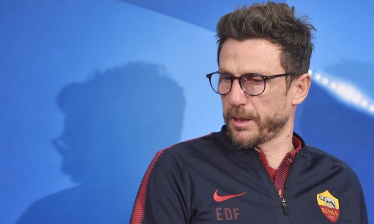 Di Francesco: 'Schick gioca dall'inizio, Roma impara dalla Juve' VIDEO