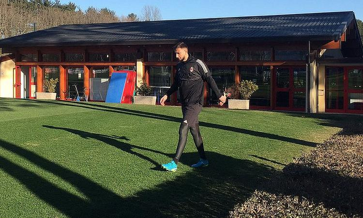 Verso Ludogorets-Milan: FOTO e VIDEO dell'allenamento