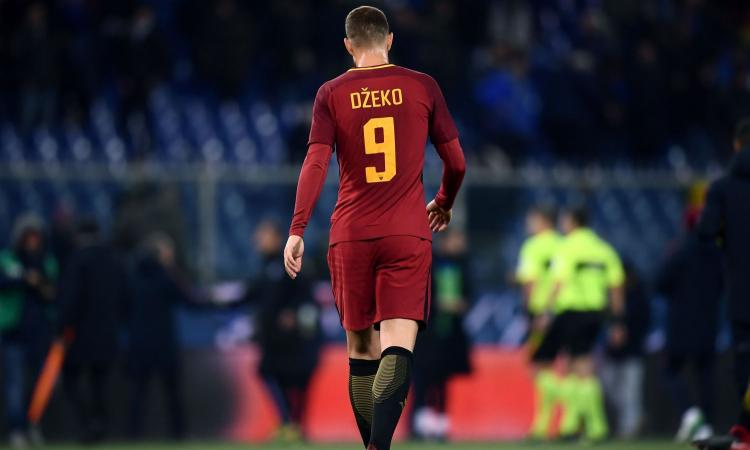 La Roma vuole blindare Dzeko