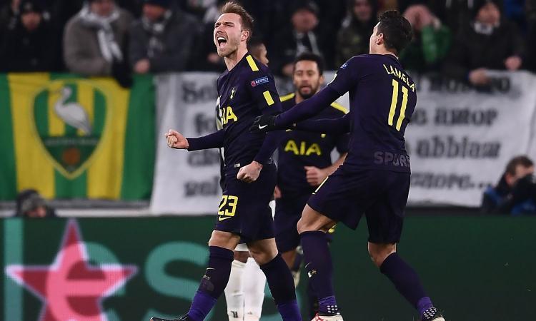 Tottenham, Eriksen fa festa e rivela la sua fede: 'Tifo per la Roma'