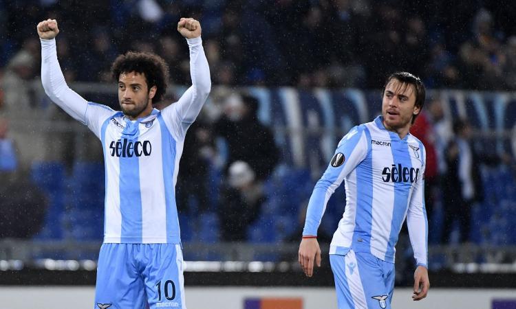 Lazio-Dinamo Kiev, le formazioni ufficiali: Felipe Anderson con Immobile