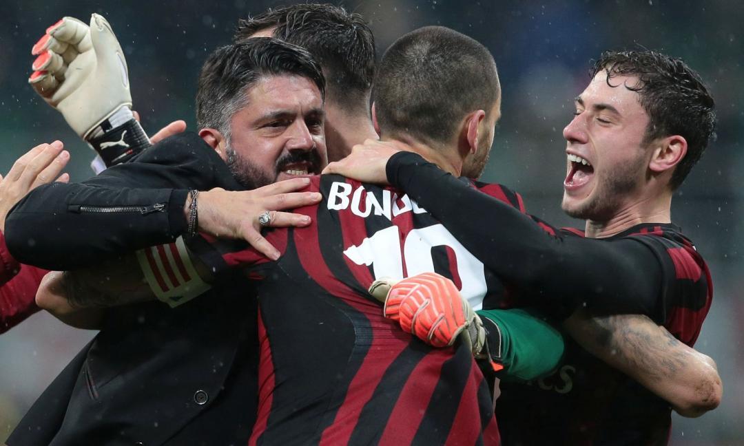 Il carattere di Gattuso contagia il Milan